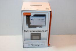 Sony FDRX3000RFDI.EU R AKA-FGP1 Ultra HD 4K Action Cam with Balanced Optical Steadyshot, New Live-