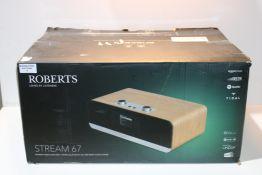 Roberts Radio Stream 67 Alexa Voice Controlled Smart Audio Speaker- DAB+/DAB/FM, Bluetooth and CD