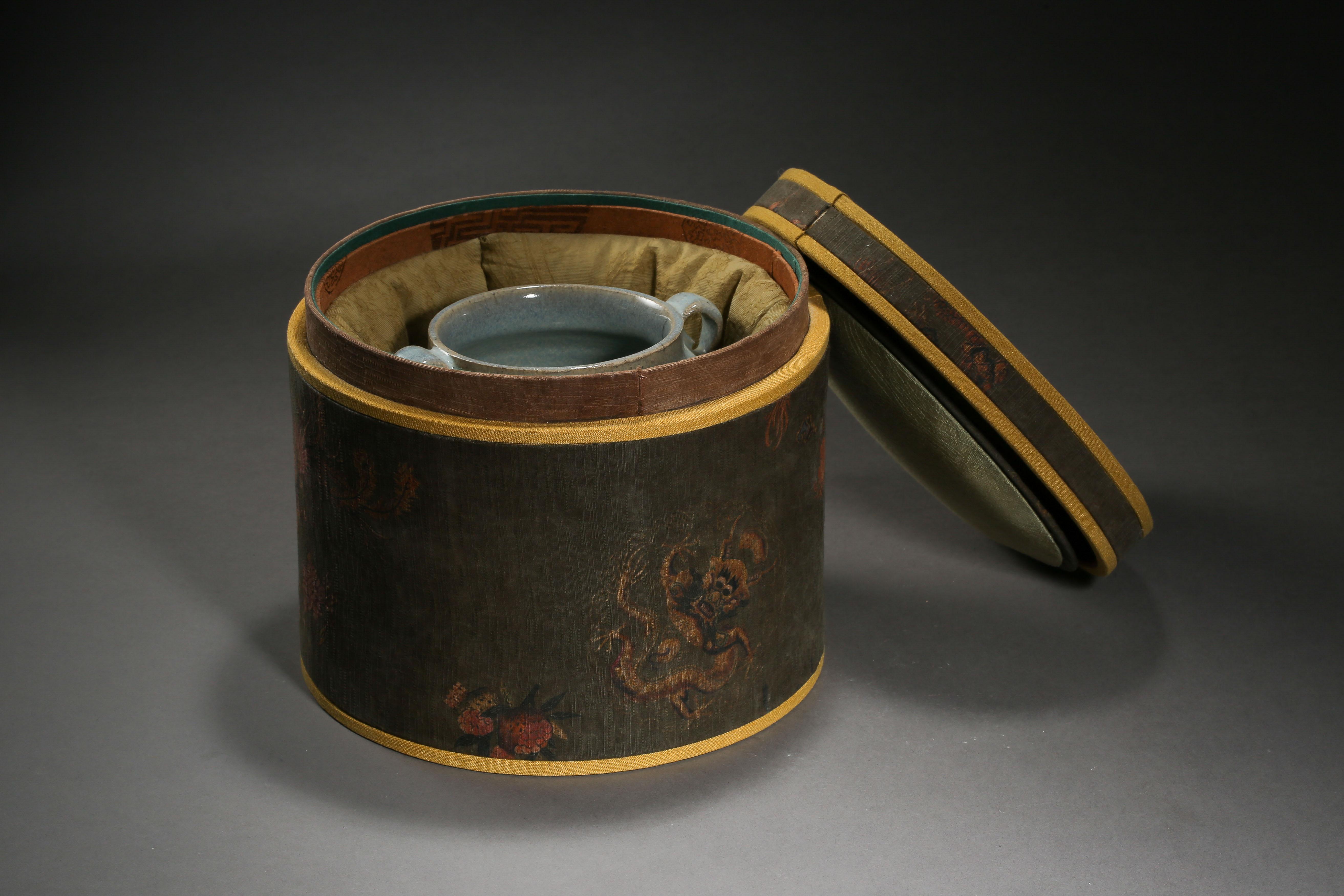 JUN KILN DOUBLE HANDLE JAR, YUAN DYNASTY, CHINA - Image 2 of 10