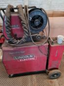 LINCOLN WATER COOLED WELDER