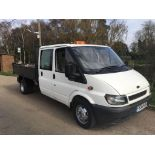 2006 FORD TRANSIT DOUBLE CAB TIPPER
