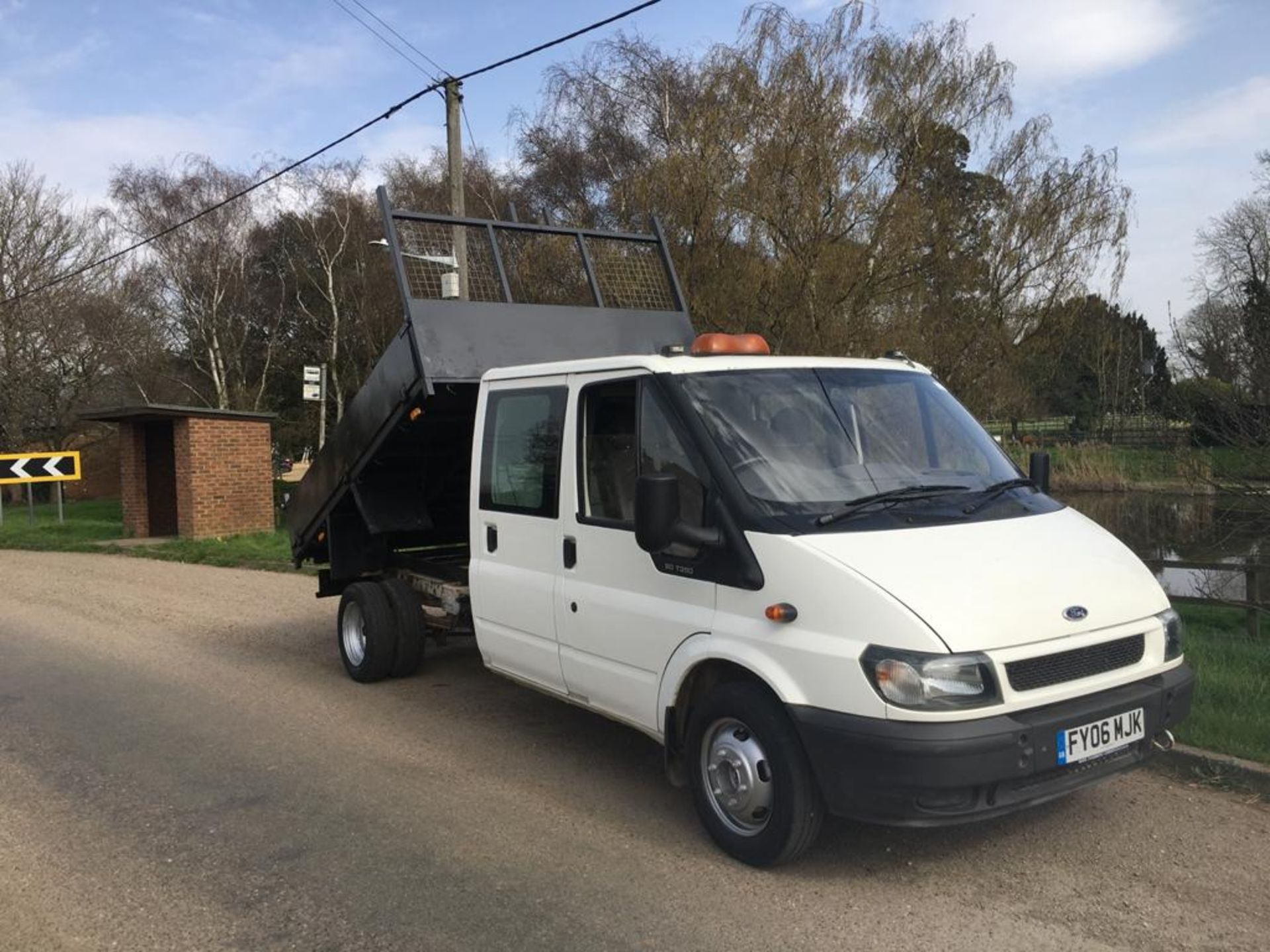 2006 FORD TRANSIT DOUBLE CAB TIPPER - Image 4 of 22