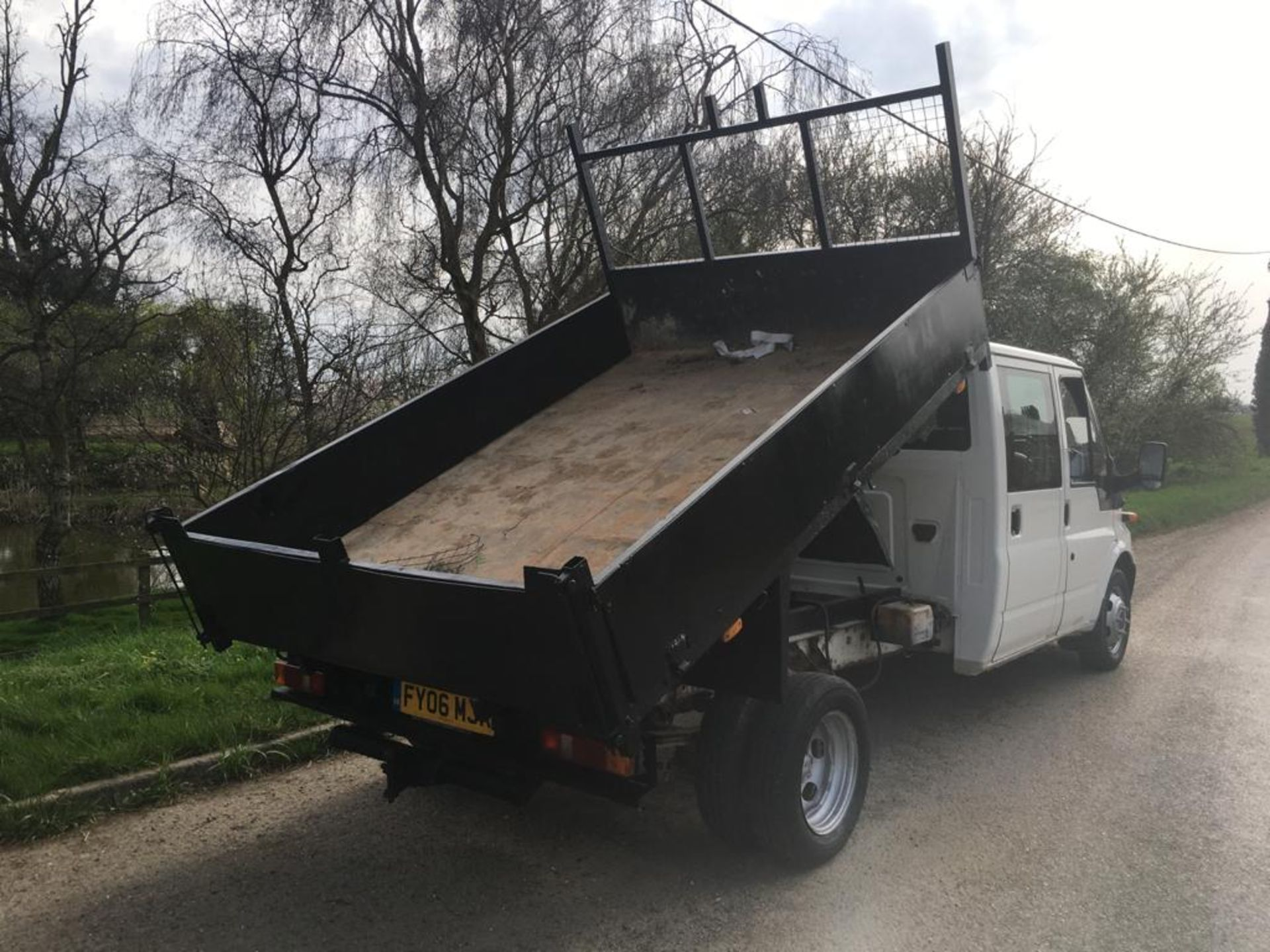 2006 FORD TRANSIT DOUBLE CAB TIPPER - Image 8 of 22