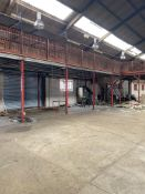 MEZZANINE FLOOR HEAVY DUTY ONLY **APPROX 105.24 SQ METERS**DISMANTLED ALREADY**