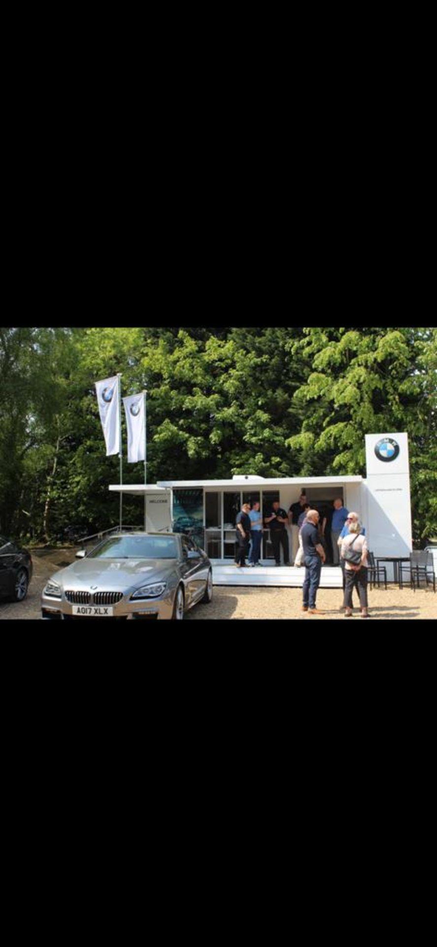 EX BMW EXIBITION UNIT ON TRAILER - Image 27 of 32
