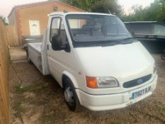 1999 FORD TRANSIT RECOVERY TRANSPORTER
