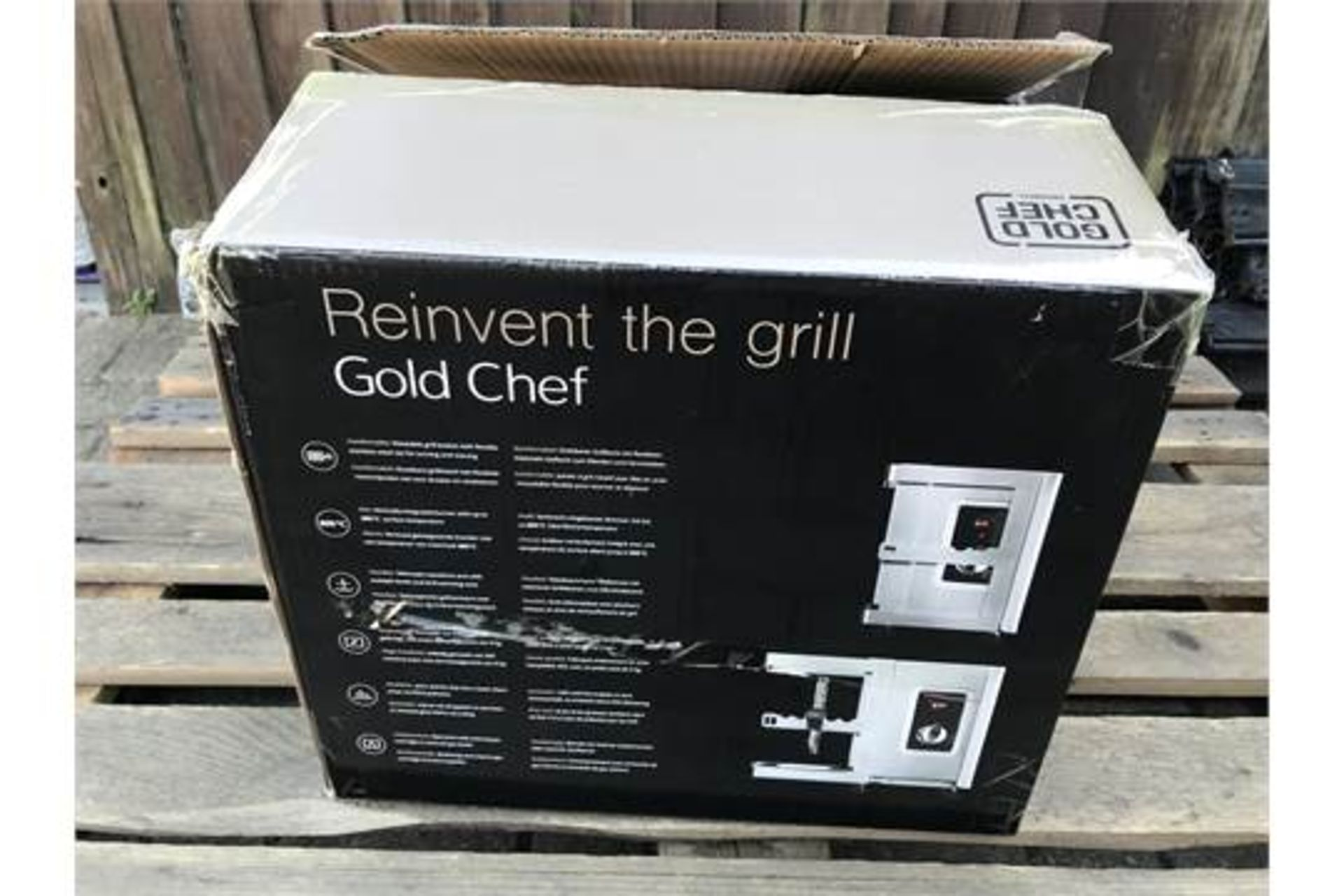 GOLD CHEF TWO 800C ROTISSERIE GRILL **BRAND NEW** - Image 4 of 5