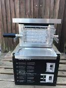 GOLD CHEF TWO 800C ROTISSERIE GRILL **BRAND NEW**