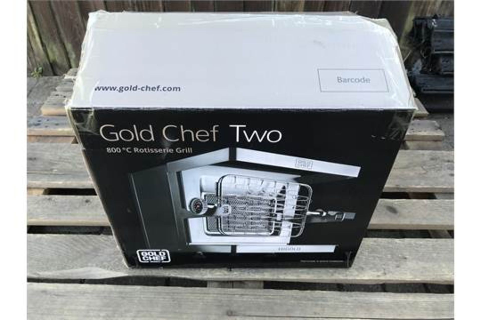 GOLD CHEF TWO 800C ROTISSERIE GRILL **BRAND NEW** - Image 5 of 5