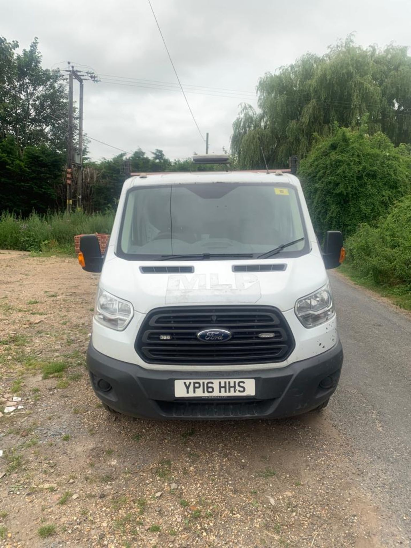 2016 FORD TRANSIT 350 DROPSIDE TAIL LIFT ALUMINUM BODY - Image 2 of 20