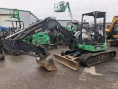 2013 John Deere 50G Mini Hydraulic Excavator