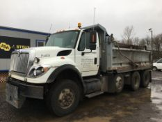 2009 International 7600 Work Star Tri-Axle Dump Truck