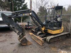2013 John Deere 35G Mini Hydraulic Excavator