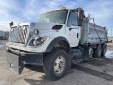 2009 International 7600 6x4 Tri-Axle Dump Truck