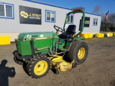 1995 John Deere 855 Utility Tractor / Mower