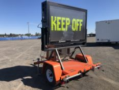 1996 American Electronic T1 Towable Sign Board