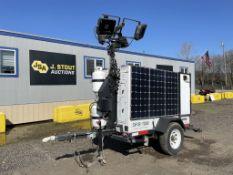 2015 Progress Solar SHYB1000 Towable Light Tower
