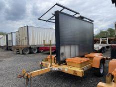 2009 Solartech Towable Sign Board