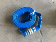 2021 50' Discharge Water Hoses, Qty. 2