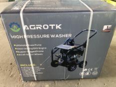 2021 Agrotk High Pressure Washer