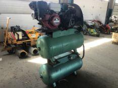 Dayton 5Z359A Dual Tank Air Compressor