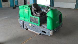 Tennant T20 Ride-On Floor Scrubber-Dryer