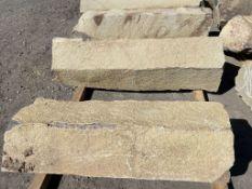 Basalt Rock Columns, Qty. 3