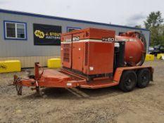2002 Ditch Witch FX60 Towable Vacuum Excavator