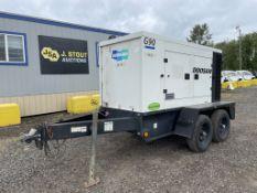 2012 Doosan G90 Towable Generator