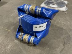 """2021 2"""" Discharge Water Hoses, Qty. 2"""