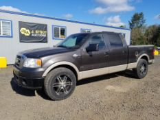 2007 Ford F150 King Ranch 4x4 Extra Cab Pickup