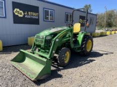 2017 John Deere 3039R Utility Tractor