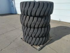 Good Year 17.5-25 Loader Tires, Qty 4