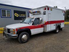1992 Chevrolet C3500 Silverado 4x4 Ambulance