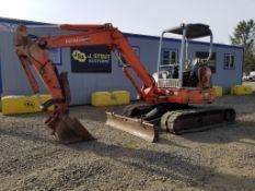 2001 Hitachi EX50U Mini Hydraulic Excavator