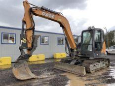 2018 Case CX80C Mini Hydraulic Excavator