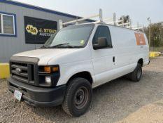 2011 Ford E350 SD Cargo Van