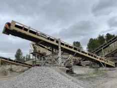 Superior 50 ft. Stacker Conveyor