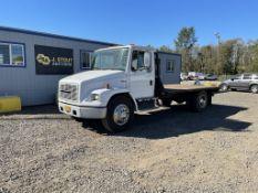 2000 Freightliner FL60 Flatbed Truck