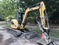 2007 Caterpillar 304C CR Mini Hydraulic Excavator