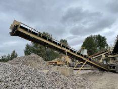 Spomac 50 ft. Stacker Conveyor