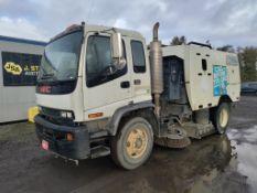 2002 GMC T7500 Sweeper Truck