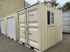 2021 9' Shipping Container