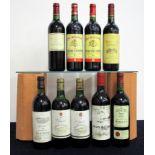 1 bt Ch. Tour Séran 1983 Médoc Cru Bourgeois i.n bs 2 bts Schroeder & Schyler Claret Bordeaux 1985
