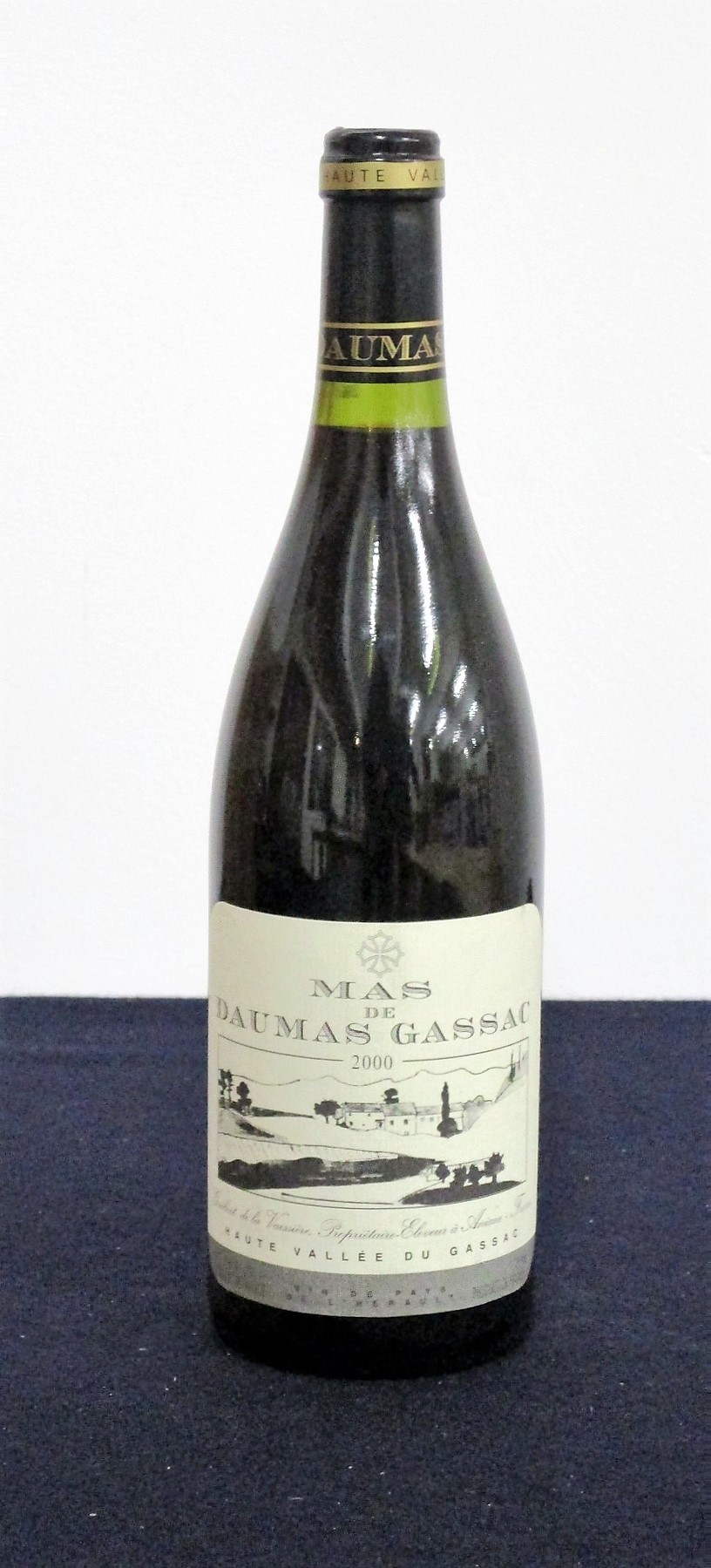 1 bt Mas du Daumas Gassac (rouge) 2000 i.n