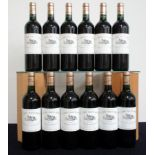 12 bts Ch. Bahans Haut-Brion 2005 owc Pessac-Léognan (2nd wine of Ch. Haut-Brion) 3 hf/i.n, 9 i.n