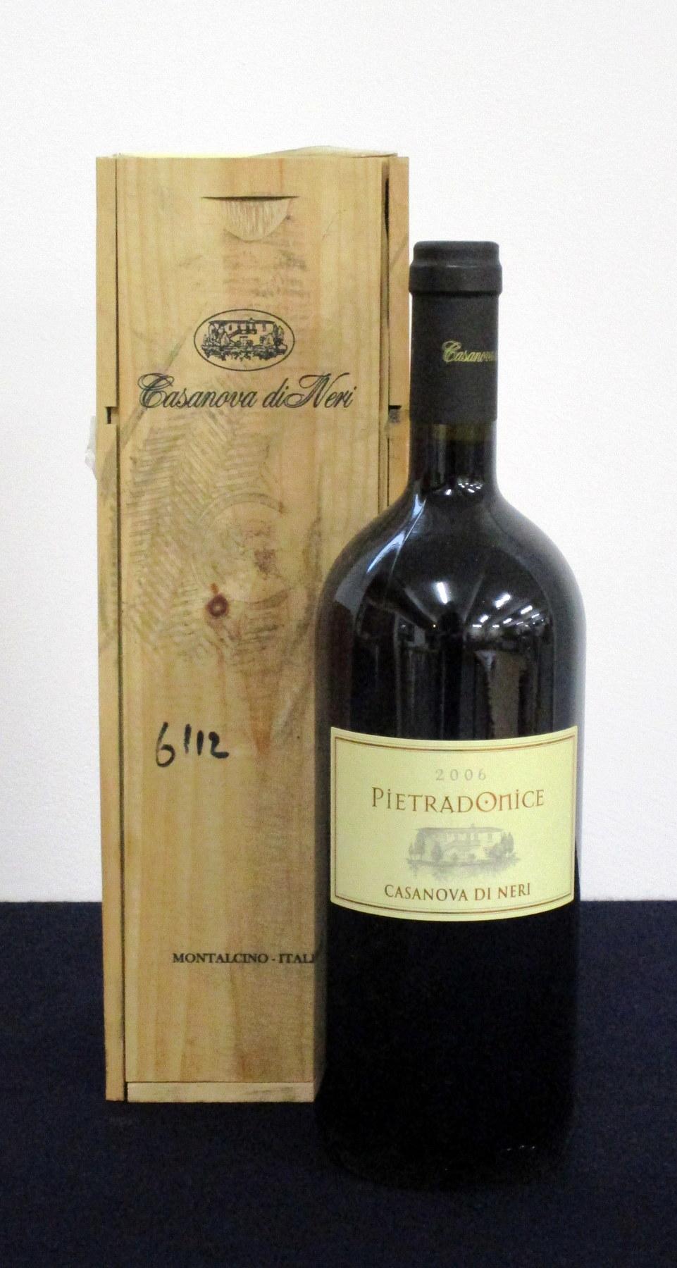 1 magnum Casanova di Neri Pietradonice 2006 Rosso di Toscana i.n