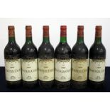 6 bts Mouton Cadet 1967 Bordeaux, 2 i.n, 2 vts, 2 ts, shipped by Edward Young & Co, bs/aged