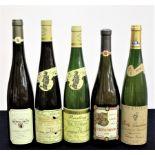 1 bt Marcel Deiss Altenberg de Bergheim Riesling Grand Cru Vendanges Tardives 1996 1 bt Dom Weinbach