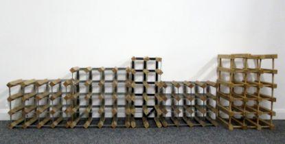 1 x 12 bt (2 x 6) Wood and Metal Wine Rack 1 x 16 bt (4 x 4) Wood and Metal Wine Rack 1 x 16 bt (4 x